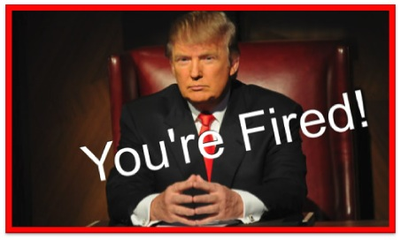 Donald Trump Fired